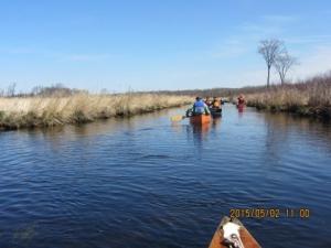 2015 Quetico Foundation Canoe Day canoeists