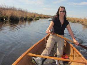 Glenda, on the river
