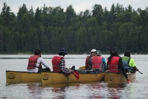 Learning how to navigate the portages, canoe routes and waterways in northern Ontario's Quetico Provincial Park