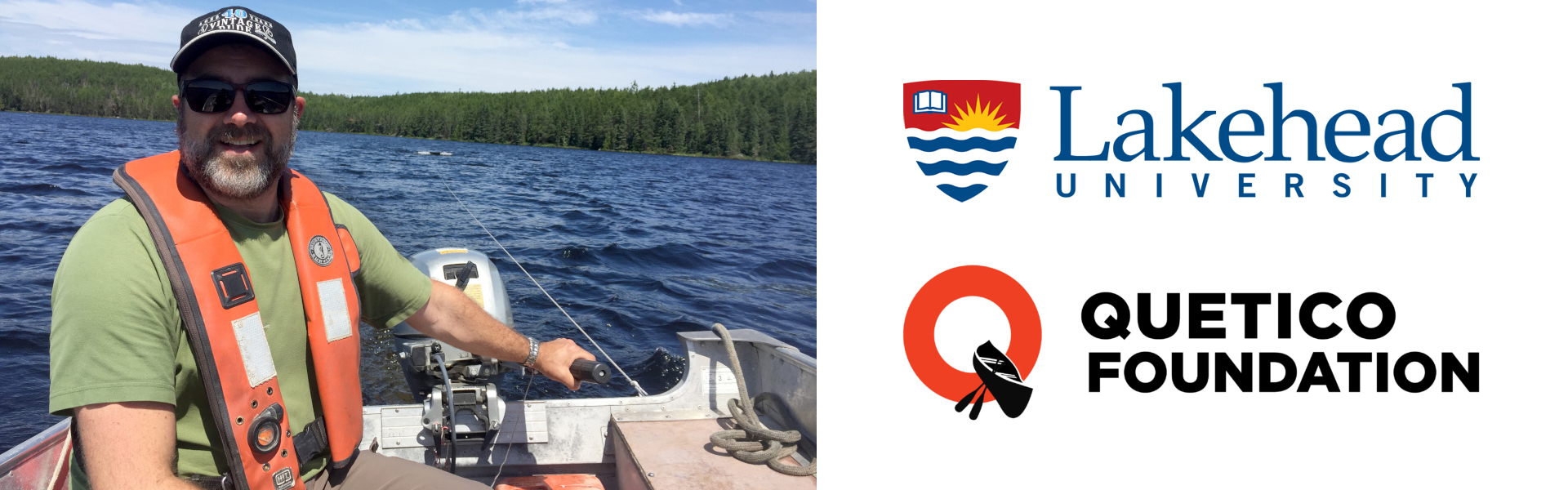 Dr. Michael Rennie is looking specifically at Lake Herring and Walleye to help inform adaptive management plans for Quetico Park.